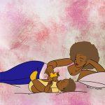 BABY-MUM-BED